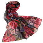 Send Modish Comfort Fleur Print Stole from Avon to India