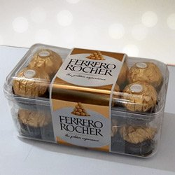 Delecious 16 pcs  Ferrero Rocher Chocolates to Aurangabad