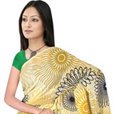 Send Stylish Suredeal Branded Georgette Saree to India