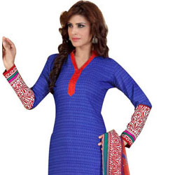 Send Graceful Chiffon N Crepe Printed Salwar Suit from Siya Collection to India