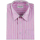 Send Full Striped Shirt in Pink from Arrow to Aluva