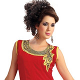 Voguish Appeal Pure Georgette Kurti