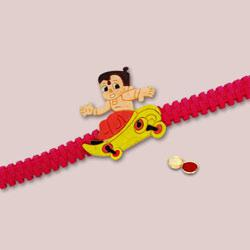 Attractive Chota Bheem Kid Rakhi