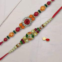 Astounding Bhaiya Rakhi Set Of 2 Rakhi