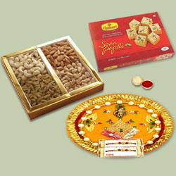 Charismatic Gift Hamper for Rakhi Celebration