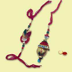Exclusive Twin Rakhi Gift Set