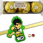 Amiable Kid Rakhi N Ferrero Rochers