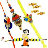 Fascinating Rakhi Assemblage