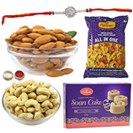 Stylish Rakhi Love Hamper Collection