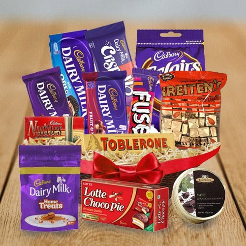 Teeth�s Treat Chocolate Set
