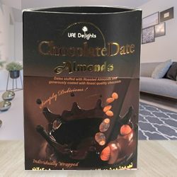 Exclusive Gift of Date Almond Chocolates