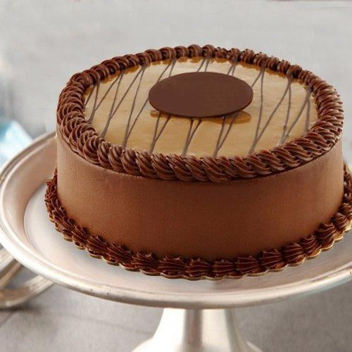 Fresh Chocolate Flavor Eggless Cake