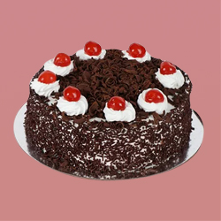 Refreshing Relish Black Forest Cake