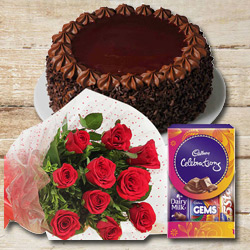Mood-Pleasing Flower and Confection Medley