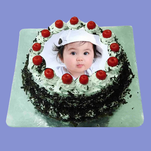Shop Black Forest Photo Cake Online