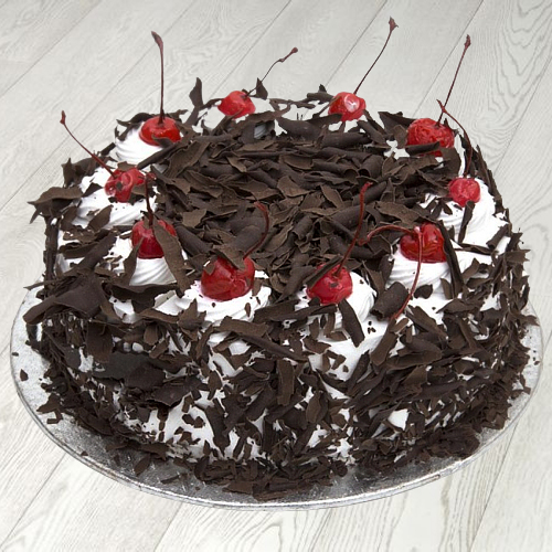 Deliver Online Eggless Black Forest Cake