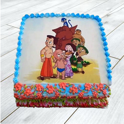 Mouth-Watering 2.5 Kg Chota Bheem Cake