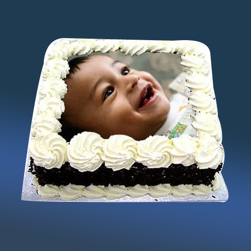 Deliver Black Forest Photo Cake Online