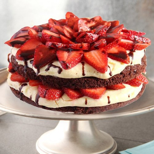 Online Order Strawberry Cake from 3/4 Star Bakery