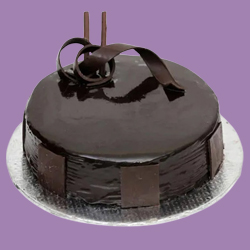 Chocolate-Flavored 1 Lb Dark Chocolate Cake from 3/4 Star Bakery