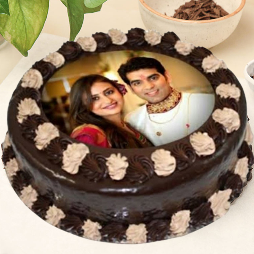 Order Chocolate Photo Cake Online