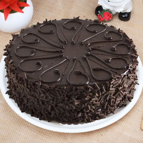 Gift Online Eggless Chocolate Cake