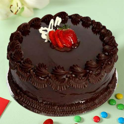 Online Gift Eggless Chocolate Cake