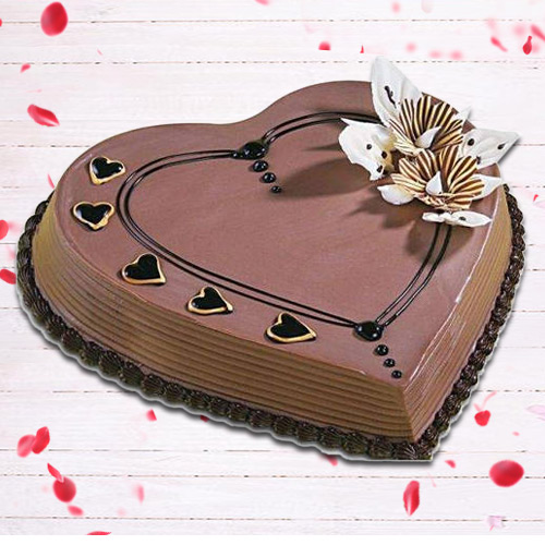 Shop Heart Shape Coffee Cake Online
