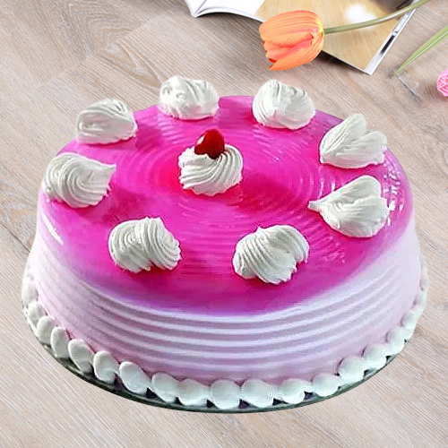 Shop Online Eggless Strawberry Cake