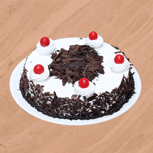 Send Black Forest Eggless Cake Online