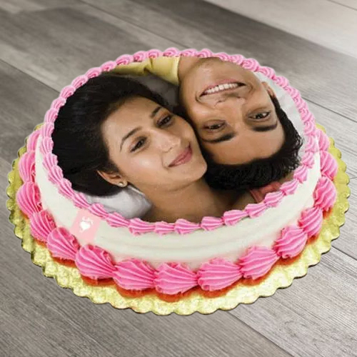 Order Online Eggless Photo Cake