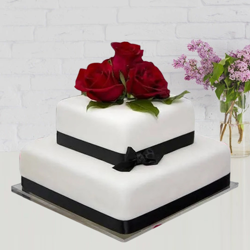 Shop Online 2 Tier Wedding Cake