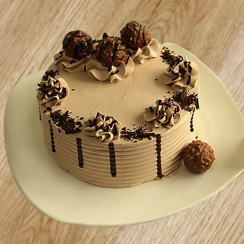 Book Online Ferrero Rocher Chocolate Cake