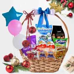 Lip-Smacking Festive Gift Basket