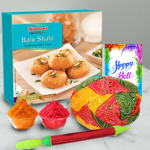 Colorful Holi Selection Gift Hamper
