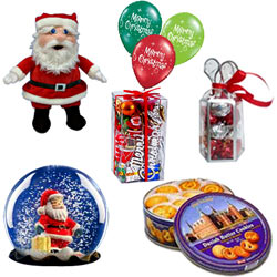 Adorable Presentation of Christmas Gift Items