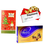 Luscious Arrangement of Christmas Gift Items