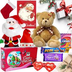 Delightful X-mas Hamper with Unlimited Happiness