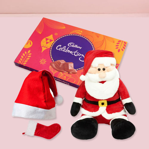 Lovable X-mas Hamper with Hint of Affection