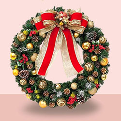 Enticing Christmas Wreath