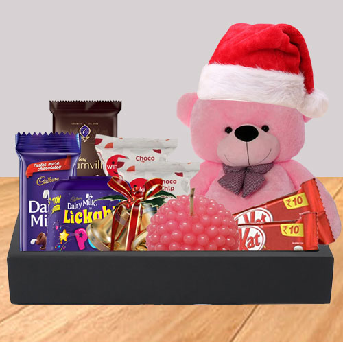 Little Basket of Joy X-mas Hamper