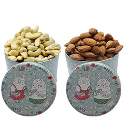 Nutty Dry Fruits X-mas Gift Hamper
