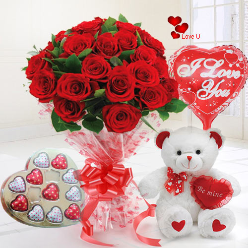 Online Order Rose Day Gift Hamper