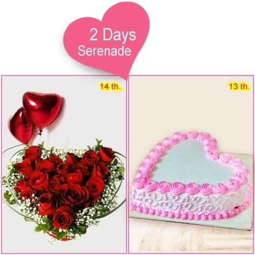 Send 2-Day Serenade for Lady Love