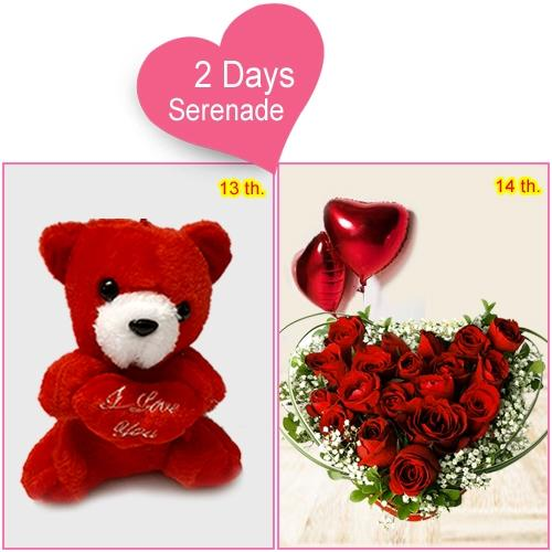 Send 2-Day Serenade Gifts for your Dream Girl
