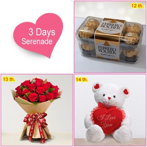 Order 3-Days Exclusive Serenade Gifts  Online