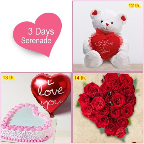 Buy V Day Gift of 3-Day Serenade for Women