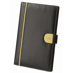Eye-Catching Heaven Writing Pad Made of Faux Leather