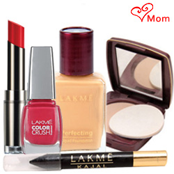 Compact, Nail Polish, Lipstick, Foundation and Kajal From Lakme