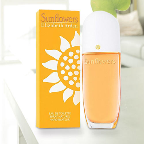 Pleasant Fragrance Courtesy Sunflowers from Elizabeth Arden EDT for Women